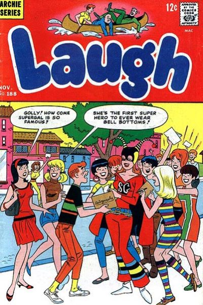 Cover for Laugh Comics (1946 series) #188