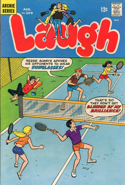 Cover for Laugh Comics (Archie, 1946 series) #209
