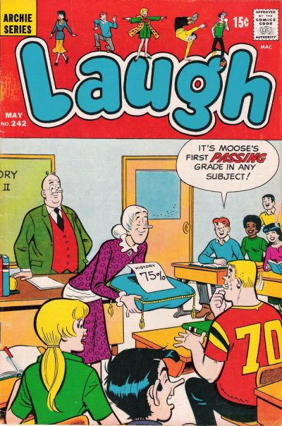 Cover for Laugh Comics (Archie, 1946 series) #242