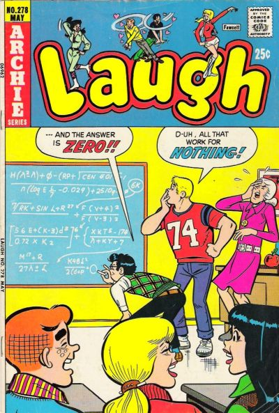 Cover for Laugh Comics (Archie, 1946 series) #278