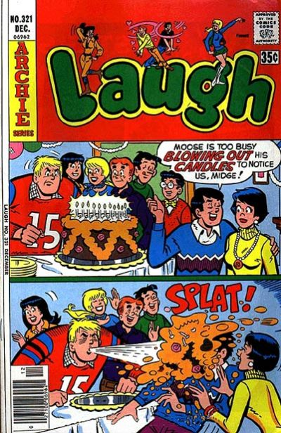 Cover for Laugh Comics (Archie, 1946 series) #321
