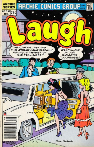 Cover for Laugh Comics (1946 series) #396