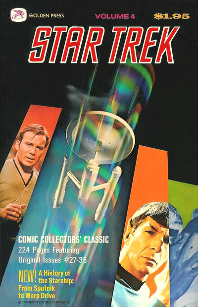 Cover for Star Trek: The Enterprise Logs (Western, 1976 series) #4