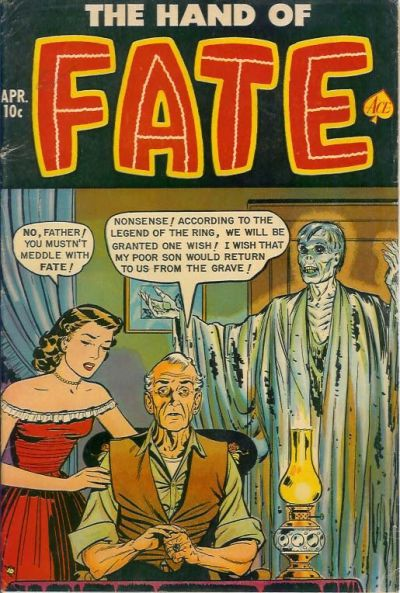 Cover for The Hand of Fate (1951 series) #10