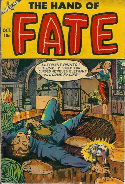 Cover for The Hand of Fate (1951 series) #20