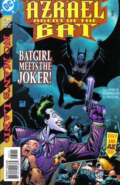 Cover for Azrael: Agent of the Bat (1998 series) #60