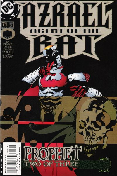 Cover for Azrael: Agent of the Bat (DC, 1998 series) #71