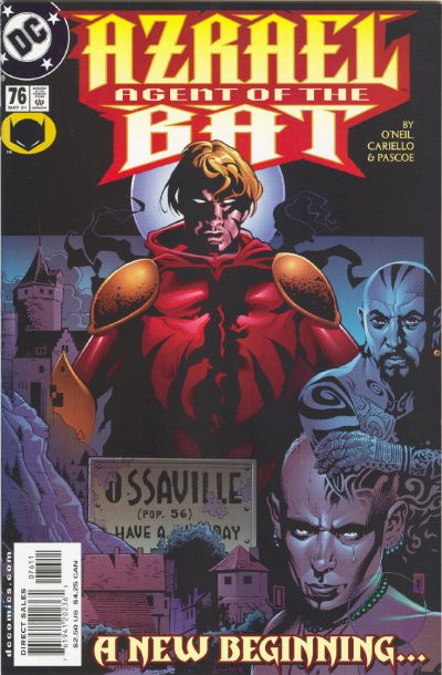 Cover for Azrael: Agent of the Bat (DC, 1998 series) #76