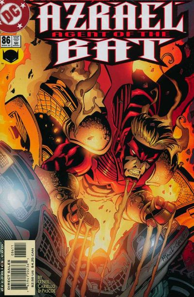 Cover for Azrael: Agent of the Bat (DC, 1998 series) #86