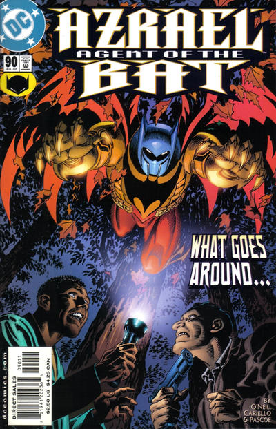 Cover for Azrael: Agent of the Bat (1998 series) #90
