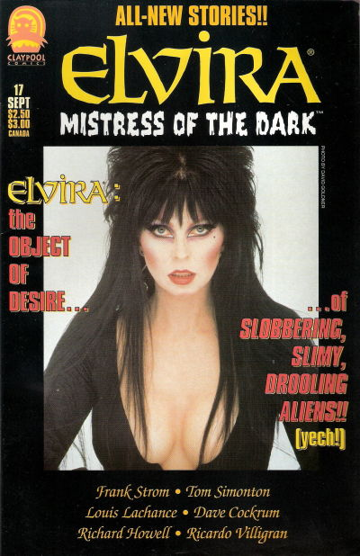 Cover for Elvira, Mistress of the Dark (Claypool Comics, 1993 series) #17