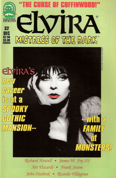 Cover for Elvira, Mistress of the Dark (Claypool Comics, 1993 series) #32