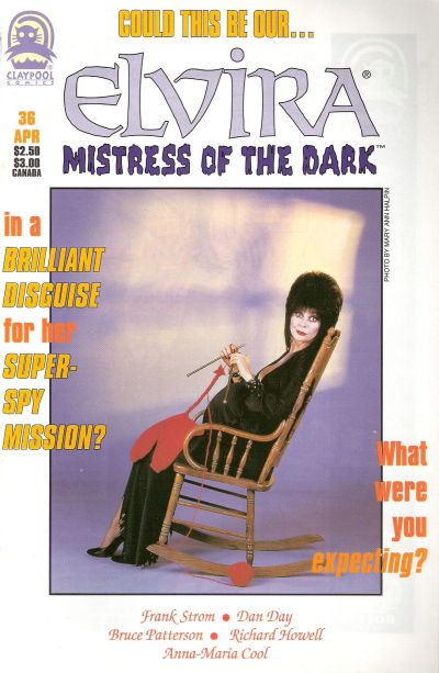 Cover for Elvira, Mistress of the Dark (Claypool Comics, 1993 series) #36