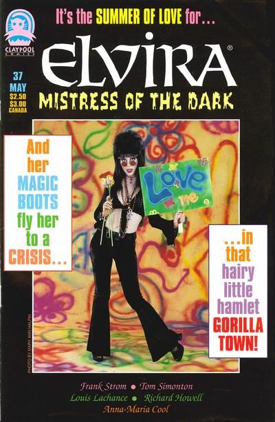 Cover for Elvira, Mistress of the Dark (Claypool Comics, 1993 series) #37