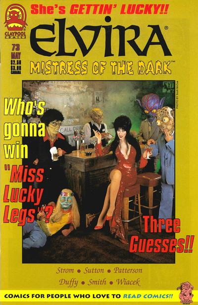 Cover for Elvira, Mistress of the Dark (Claypool Comics, 1993 series) #73