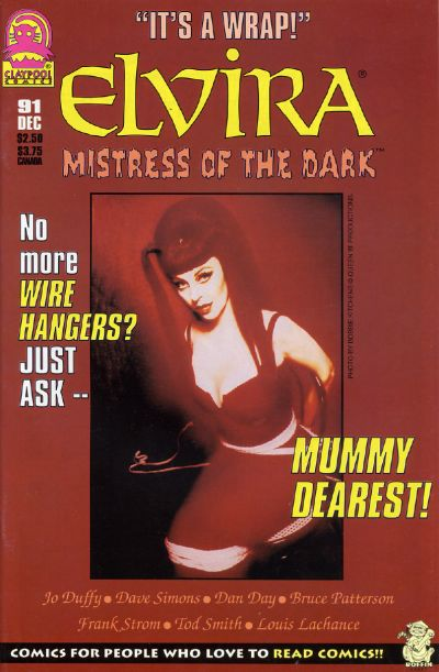 Cover for Elvira, Mistress of the Dark (Claypool Comics, 1993 series) #91