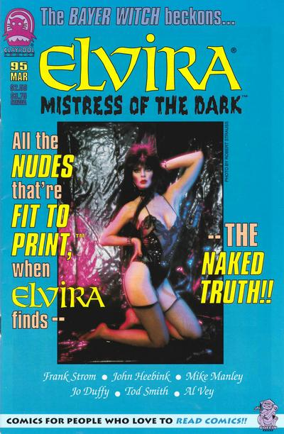 Cover for Elvira, Mistress of the Dark (Claypool Comics, 1993 series) #95