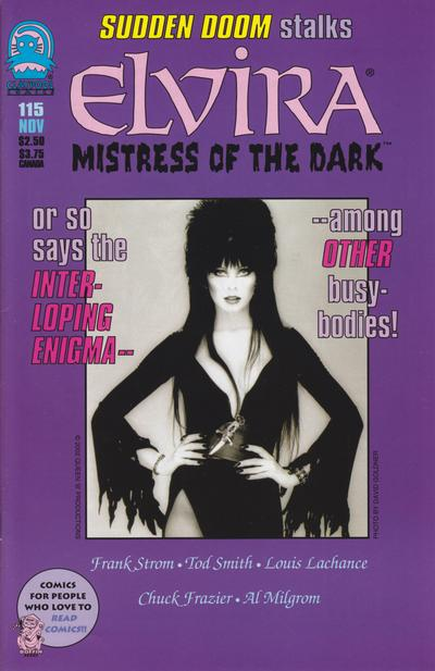 Cover for Elvira, Mistress of the Dark (Claypool Comics, 1993 series) #115