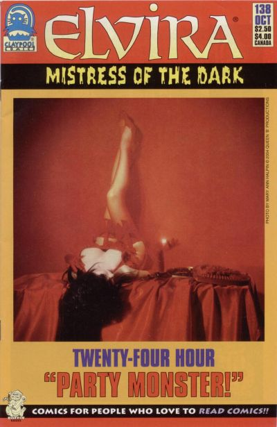 Cover for Elvira, Mistress of the Dark (Claypool Comics, 1993 series) #138