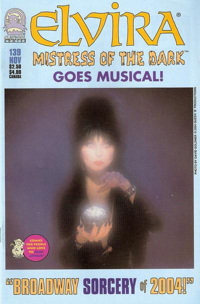 Cover for Elvira, Mistress of the Dark (Claypool Comics, 1993 series) #139
