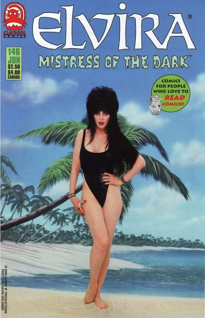 Cover for Elvira, Mistress of the Dark (Claypool Comics, 1993 series) #146