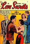 Cover for Love Secrets (Quality Comics, 1953 series) #33