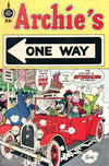Cover for Archie's One Way (Fleming H. Revell Company, 1973 series) #[nn] [35-Cent Variant]