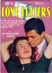 Cover Thumbnail for Love Letters (Quality Comics, 1949 series) #19