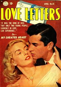 Cover Thumbnail for Love Letters (Quality Comics, 1949 series) #20