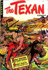 Cover Thumbnail for The Texan (St. John, 1948 series) #8