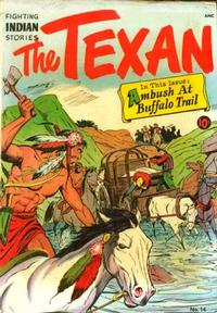 Cover Thumbnail for The Texan (St. John, 1948 series) #14