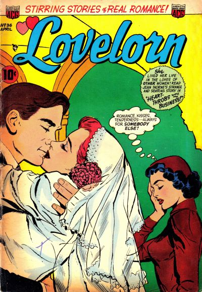 Cover for Lovelorn (1949 series) #36