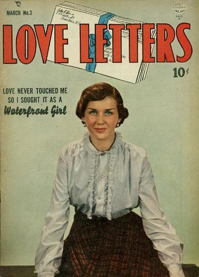 Cover for Love Letters (Quality Comics, 1949 series) #3