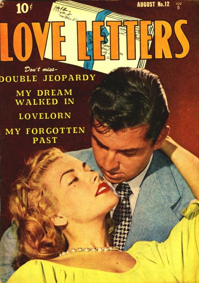 Cover for Love Letters (Quality Comics, 1949 series) #12