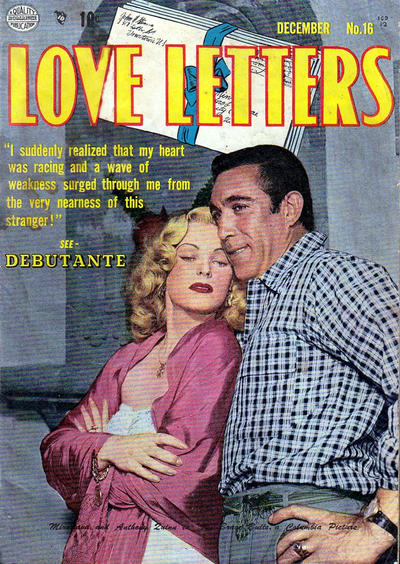 Cover for Love Letters (Quality Comics, 1949 series) #16