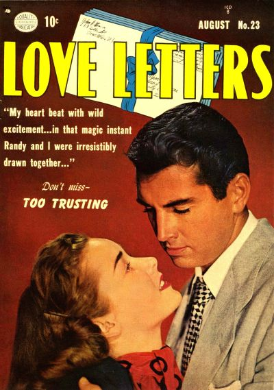 Cover for Love Letters (Quality Comics, 1949 series) #23