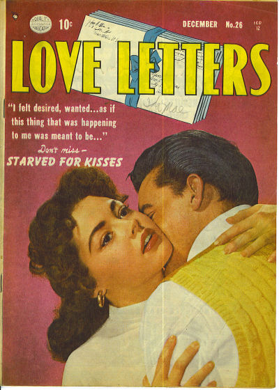 Cover for Love Letters (Quality Comics, 1949 series) #26