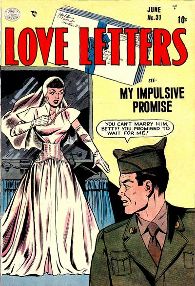 Cover for Love Letters (1949 series) #31