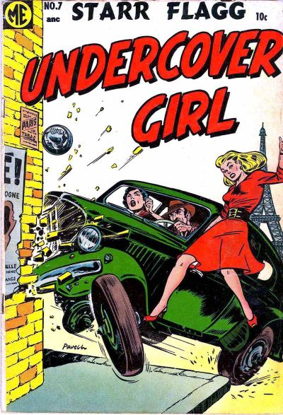 Cover for Undercover Girl (Magazine Enterprises, 1952 series) #7 [A-1 #118]