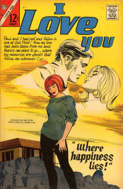 Cover for I Love You (1955 series) #69