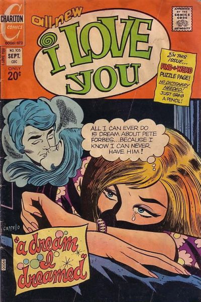 Cover for I Love You (Charlton, 1955 series) #105