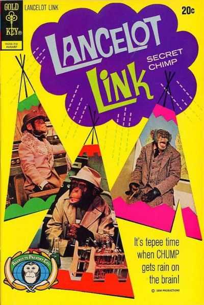 Cover for Lancelot Link, Secret Chimp (Western, 1971 series) #6