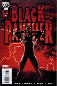 Cover Thumbnail for Black Panther (Marvel, 2005 series) #6 [Direct Edition]