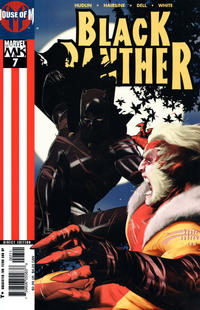 Cover Thumbnail for Black Panther (Marvel, 2005 series) #7 [Direct Edition]