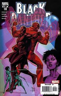 Cover for Black Panther (2005 series) #10