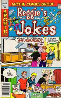 Cover for Reggie's Wise Guy Jokes (Archie, 1968 series) #50