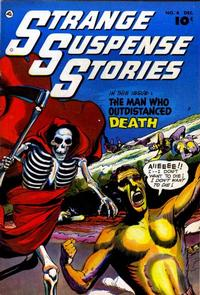 Cover Thumbnail for Strange Suspense Stories (Fawcett, 1952 series) #4