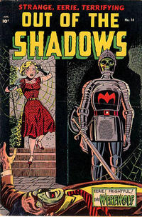 Cover for Out of the Shadows (Standard, 1952 series) #14