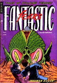 Cover Thumbnail for Fantastic Fears (Farrell, 1953 series) #7