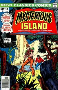Cover Thumbnail for Marvel Classics Comics (Marvel, 1976 series) #11 - Mysterious Island